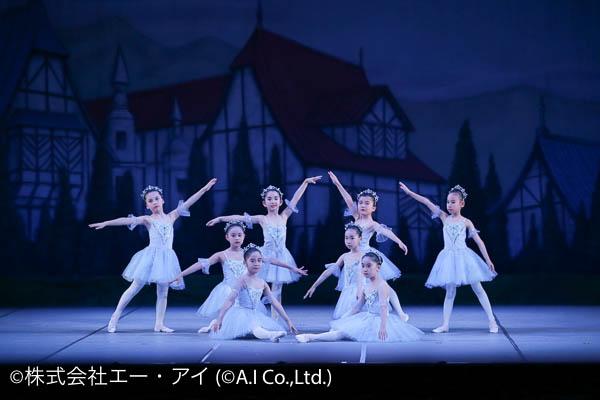 バレエをする女の子達
